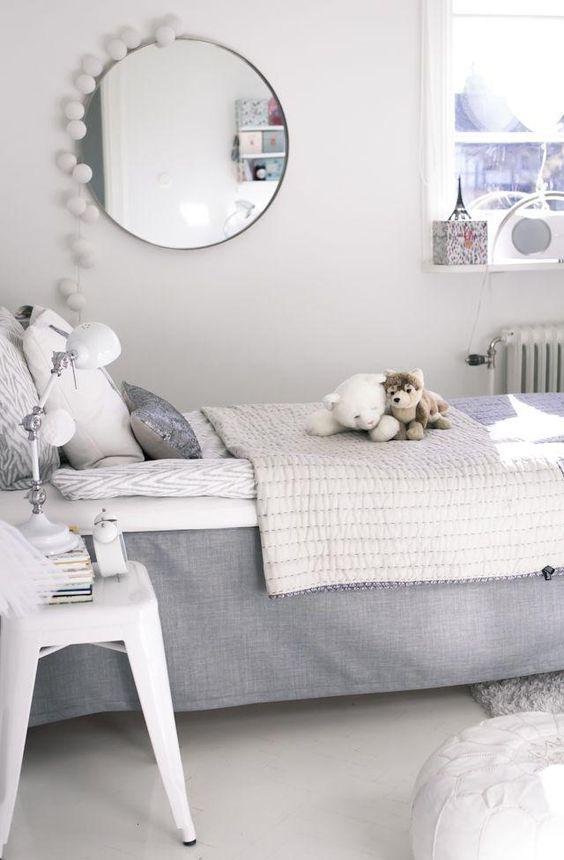 decorar con espejos, habitación infantil