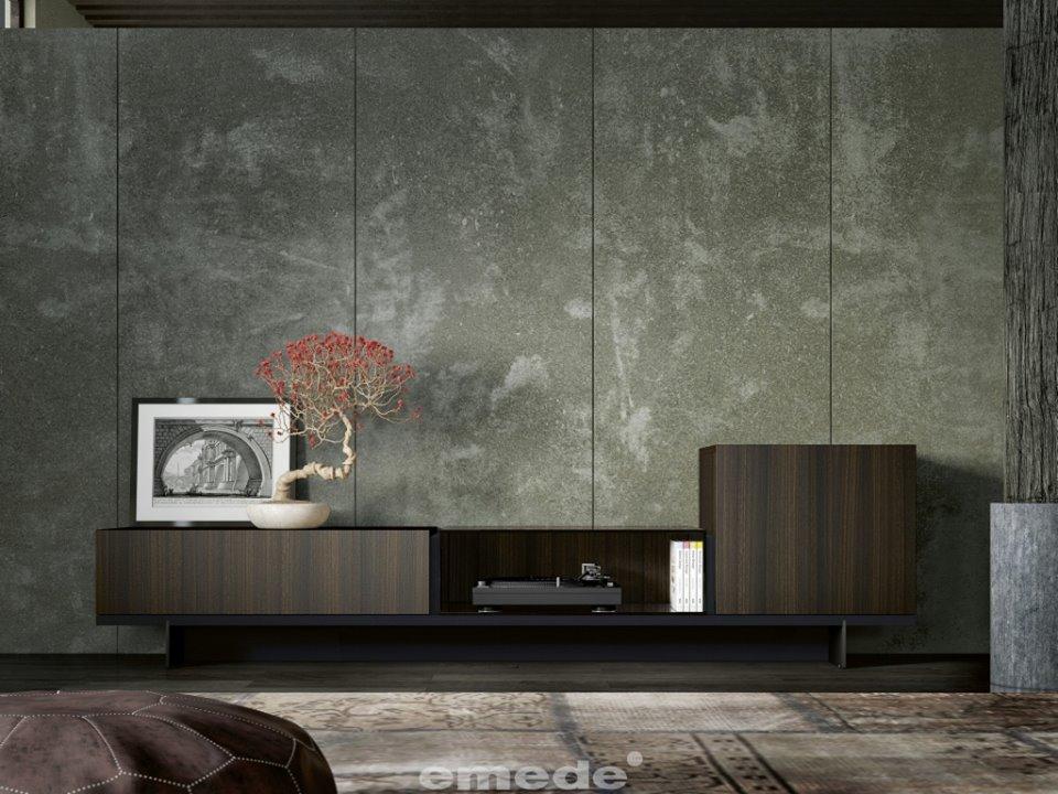 mueble oscuro tendencia decorativa 2016