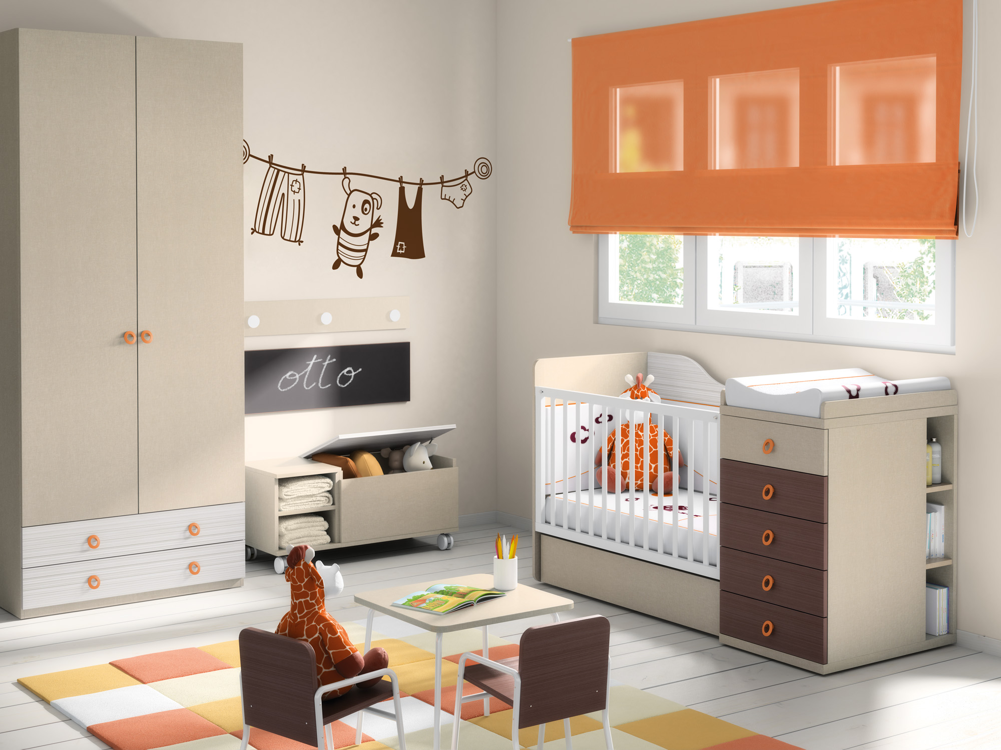 Mueble infantil de calidad en Teruel
