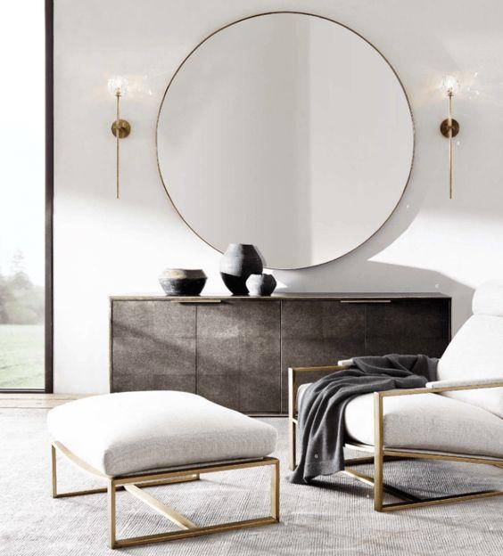 como decorar con espejos