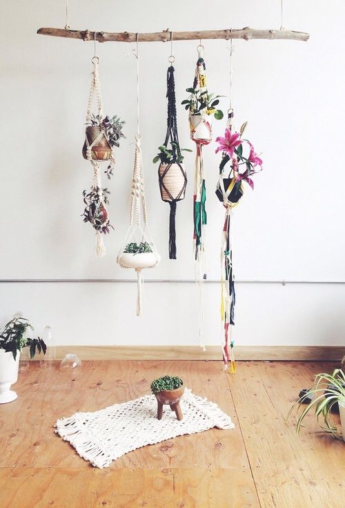tendencias decorativa macrame