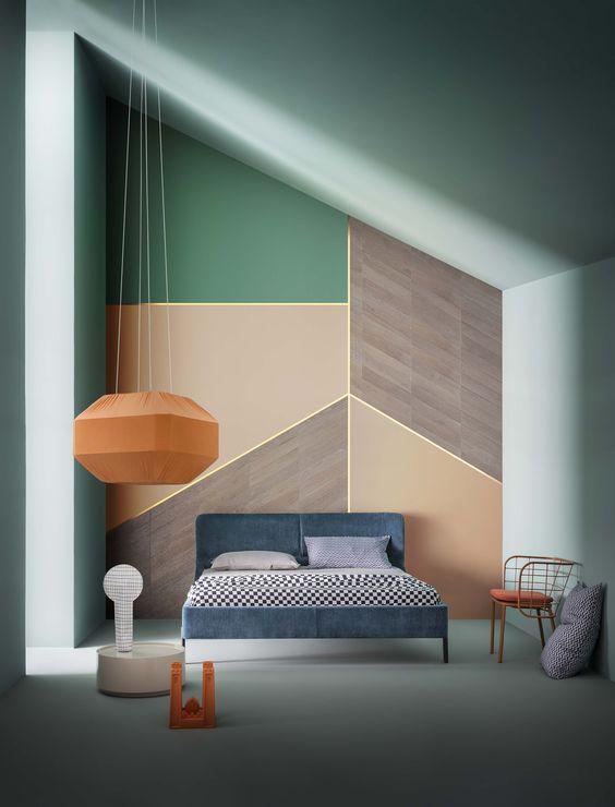 tienda de muebles y decoración color block