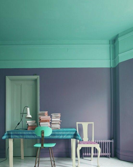 tendencia color block en decoración