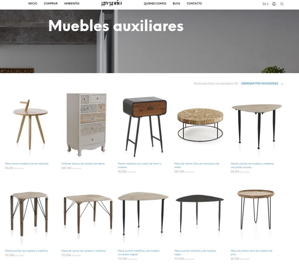 tienda de muebles online teruel